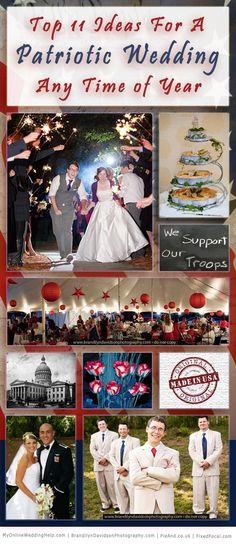 My second guest post on Gemvara ~Bobette  ...Top 11 Ways To Have a Patriotic Wedding Any Time of the Year | Gemvara Blog