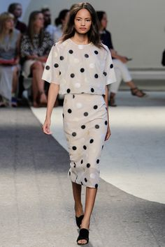 Show Review: Sportmax Spring 2014
