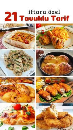 Turkish Kitchen, Iftar, Food Design, Poultry, Chicken Recipes, Food And Drink, Cooking Recipes, Restaurant, Dinner
