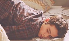 Pin for Later: 39 Things That Prove Stiles Is the Best Part of Teen Wolf When He Sleeps Like This Source: MTV