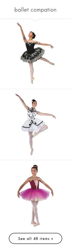 """ballet compation"" by monkeyreddick ❤ liked on Polyvore featuring costumes, ballerina halloween costume, ballet costumes, white costume, white ballet costume, white halloween costumes, white ballerina costume, ballerina costume, purple costume and purple halloween costumes"