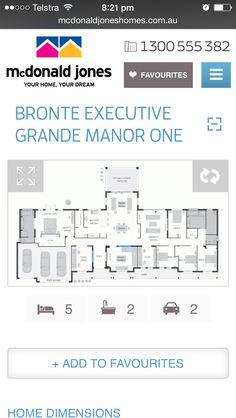 Bronte executive grande manor 1 Bronte House, Dreaming Of You, House Plans, Floor Plans, Ads, House Design, How To Plan, House Floor Plans, Architecture Illustrations