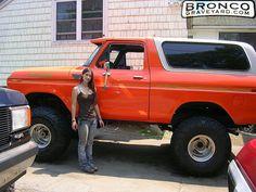 78 ford orange bronco | Jeff's Bronco Graveyard - Reader's Ride #2240: 1979 Ford Bronco