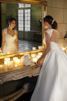 2013 Wedding Dresses A Line Wedding Dresses Vogue Wedding Dresses Ball Gown USD 229.49 PL3173EB