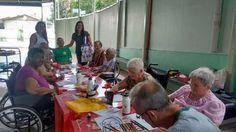 Projeto de arte leva desenhos e cores para lares de idosos em Mogi Mirim