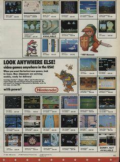 Old US Nintendo Ad