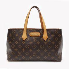 Louis Vuitton Wilshire PM Monogram Handle bags Brown Canvas M45643
