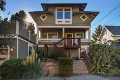 This beautiful Wallingford Craftsman home provides early 20th century design that people in Seattle appreciate and search the market for, waiting patiently for the right home to come on the market. Meticulously reconstructed in 2006, this home offers four bedrooms, 3.25 baths, a formal dining room, gourmet kitchen and pantry, living room, family room downstairs and an outside entertainment area with a gas fireplace and lit arbor.