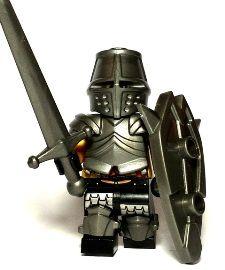 Paladin Custom Lego Weapons: Parts to make Legos for History Lego Custom Minifigures, Lego Knights, Lego People, Lego Mecha, Lego Military, Lego Castle, Cool Lego Creations, Armor Concept, Custom Lego