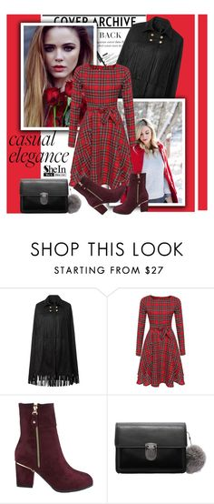 """""""Casual Elegance (SheIn)"""" by shambala-379 ❤ liked on Polyvore featuring women's clothing, women's fashion, women, female, woman, misses and juniors"""