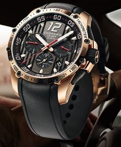 Chopard Supefast Chronograph Red Gold