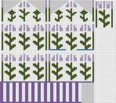 Bilderesultat for stranded knitting charts Jumper Knitting Pattern, Mittens Pattern, Knitting Charts, Loom Knitting, Hand Knitting, Knitting Patterns, Knit Stranded, Knit Art, Embroidery