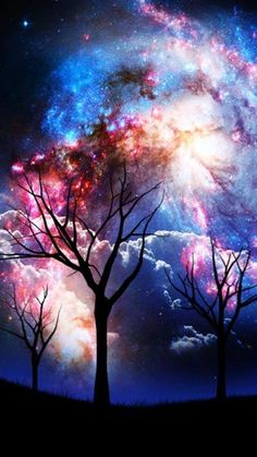Awesome idea for my cosmos-themed sleeve Cellphone Wallpaper, Galaxy Wallpaper, Mobile Wallpaper, Cosmos, Beautiful Sky, Beautiful Artwork, Wallpaper Downloads, Trippy, Pretty Pictures