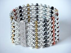seed bead bracelet pattersm | created a tutorial for this bracelet and it is available for ...
