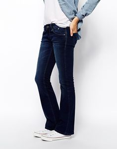 70s flares are everywhere at the moment but if you're not ready to give up your skinnies just yet, try easing yourself in with this bootcut shape. http://asos.to/WaRlN0