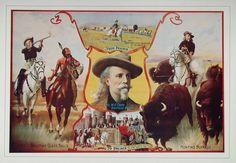 1976 Print Buffalo Bill Prairie Palace Life Scenes NICE - ORIGINAL BILL