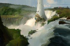 ArtStation - Alien Monolith, Joe Marquis