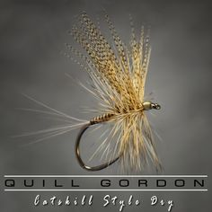 Fly Fish Food -- Fly Tying and Fly Fishing : The Quill Gordon