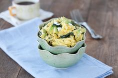 Avocado, Spinach, and Chèvre Scramble - Against All Grain - Award Winning Gluten Free Paleo Recipes to Eat Well & Feel Great