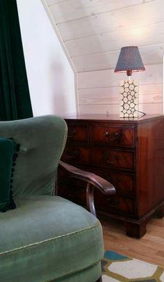 Malina #chalet #Zakopane furniture fotel art antyk decor design