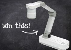 Enter by Sunday, May 5 for a chance to win an Epson DC-20 Document Camera (a $549 value!). Details: 1)Share images and 3D objects 2)Record lessons and videos 3)12x optical zoom 4)10x digital zoom
