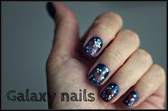 DIY Galaxy nails - video tutorial