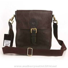 2014 Mulberry Mens Albert Messenger Natural Leather Bag Dark Coffee For  Cyber Monday Mulberry Wallet, de7a331812