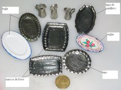 EL RINCON MINI DE MARY: Tutorial para hacer bandejas usando un molde