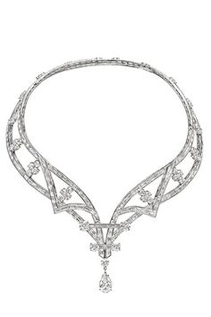 OUT OF THIS WORLD!!  Le collier Deel d'Harry Winston