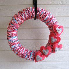 yarn wreath <3