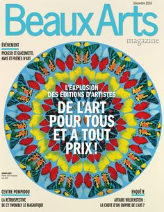 Beaux Arts magazine n°390 Décembre 2016 http://bu.univ-angers.fr/rechercher/description?notice=000359886