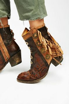 Mexicana Womens KING RANCH ANKLE BOOT - Bohemian Summer Fashion Trend 2017