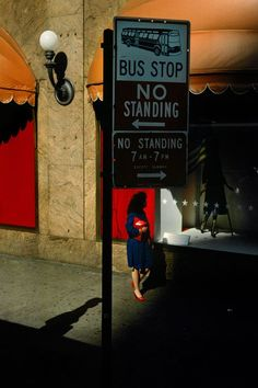 © Harry Gruyaert/Magnum Photos New-York city. Street scene. 1985.