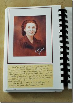 Family History Recipe Book  I have wanted to put together a recipe book like this for ages.  Here is some inspiration for it!  ~Carol
