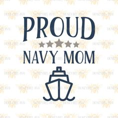 Proud Navy Mom svg Navy Mom svg Military Mom svg Patriotic Mom svg Patriot mom svg America svg Silhouette svg Cricut svg Mom Gift svg by HoneybeeSVG on Etsy