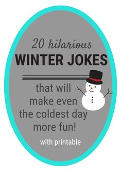 20 Funny Winter Jokes for Kids (and they're printable!) , The Effective Pictures We Offer You About Silly Jokes in hindi A quality picture can tell y Christmas Jokes For Kids, Christmas Fun, Holiday Fun, Christmas Ornaments, Funny Jokes For Kids, Silly Jokes, Best Kid Jokes, Hilarious Jokes, Winter Jokes