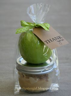 Apple and Dip Thank You Gift |