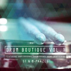 What hit me as I previewed the sounds is how much work was put into each sound. You can easily hear the extra detail that went into sculpting these sounds. Native Instruments, Drums, Masters, Sculpting, Boutique, Detail, Master's Degree, Sculpture, Percussion