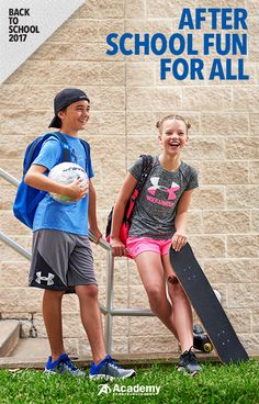 Outfit them in Under Armour� from head-to-toe with shoes, backpacks, shirts, shorts, and more. Academy� Sports + Outdoors is home to all of their favorite back to school brands at the lowest prices. Discover our collection of apparel and accessories today.