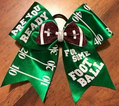Items similar to Pro Bows of Texas on Etsy Softball Bows, Football Cheer, Cheerleading Bows, Football Hair Bows, Softball Catcher, Girls Softball, Football Field, Volleyball Players, Cute Cheer Bows