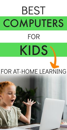 Best computers for kids for at-home learning. Best computers for students. Computers for kids. Learning with laptop. School at home. School from home ideas. School at home homeschooling. School Computers, Laptop Computers, Home Learning, Learning Games, Video Games For Kids, Activities For Kids, Best Computer, Best Laptops, Project Based Learning