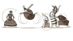 This is the post that ran from Martha Graham Dance Company's website when Google launched a 2011 animated doodle to celebrate Graham's birthday. How do you fit seven decades of American innovation into 15 seconds? That was the challenge the company Google faced.