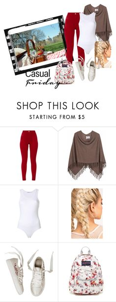 """""""casual friday"""" by itgirl91 on Polyvore featuring Minnie Rose e JanSport"""