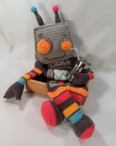 мангл робот кючком