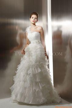 Robe de mariée Jasmine T496 Couture 2012 - Fall 2011