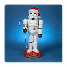 BLOG DOS BRINQUEDOS: Star Wars Stormtrooper com Candy Cane Nutcracker