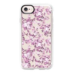 Vintage blush pink ivory elegant girly floral - iPhone 7 Case And... ($40) ❤ liked on Polyvore featuring accessories, tech accessories, iphone case, vintage iphone case, pink iphone case, clear iphone case, floral iphone case and iphone cases