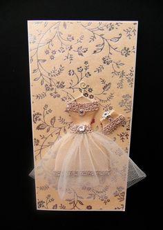 Carmel Personalised Party Girl Dress Card / Handmade by BSylvar, $15.00