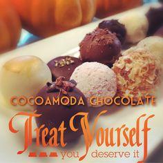 Treat yourself to COCOAMODA chocolate