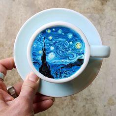 I'm A Barista From Korea Who Creates Art On Coffee